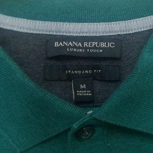 Banana Republic Shirts - Banana Republic Polo M